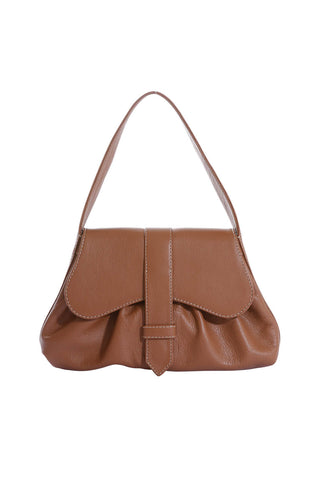 Mercedes Bag in Antique Tan Leather