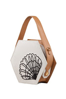Mini Hexa Stitch Bag in White thumbnail