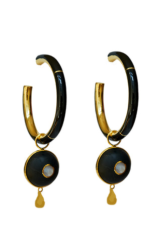 Brujo Hoops in Black