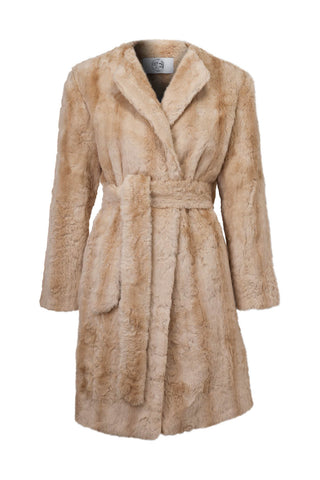 Sunflower Faux Fur Coat