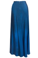 Maite Cascade Skirt in Teal Blue thumbnail
