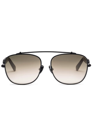 Malcolm 05 Sunglasses in Matte Black Metal