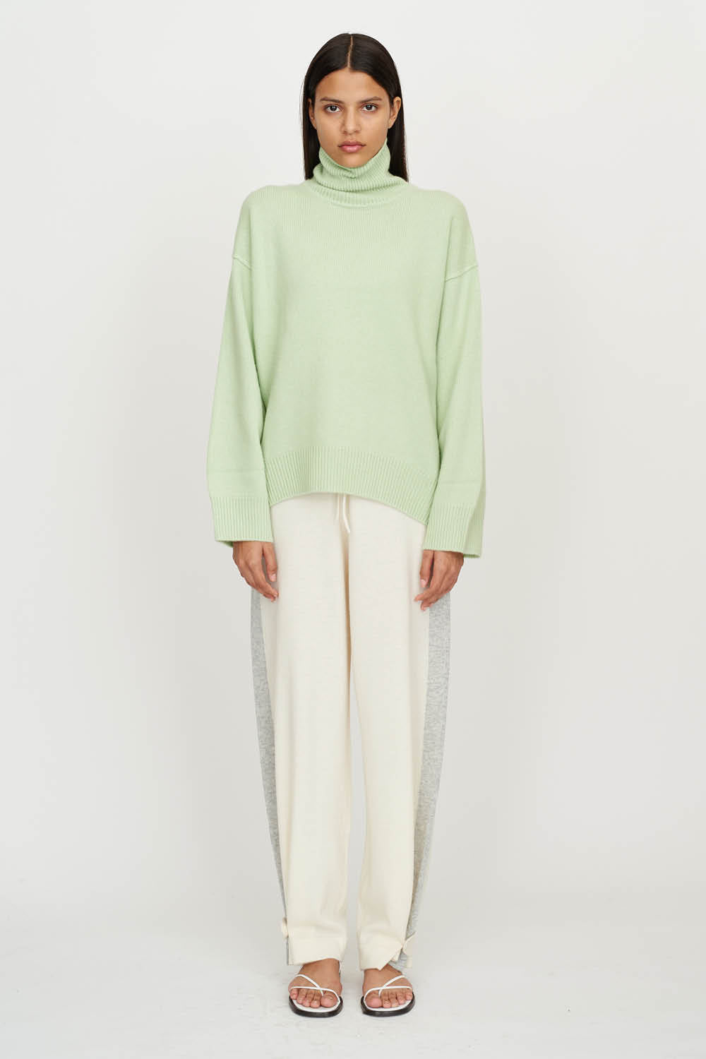 Oversized Jumper in Mint