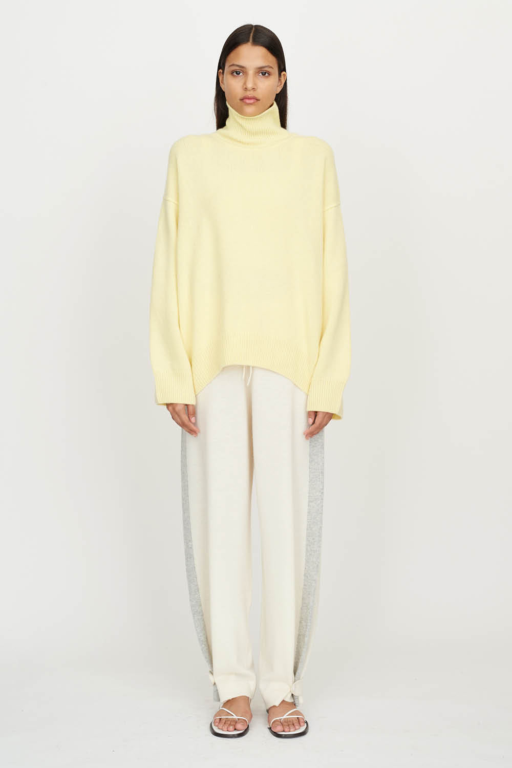 Oversized Jumper Yellow