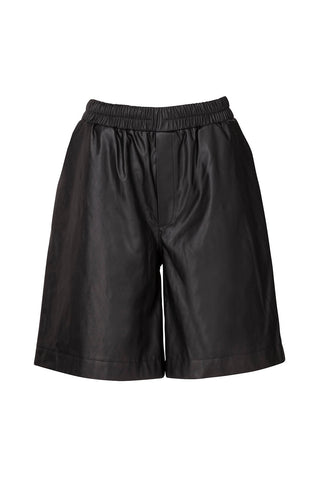Dianthu Vegan Leather Shorts