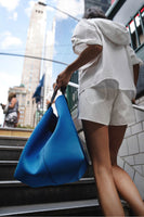 The Yulex Mega Tote Bag Blue thumbnail