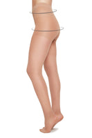 Moa Control Top 20 Denier Tights in Nude thumbnail