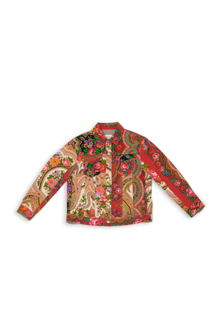 Flame Patchwork Jacket