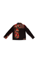 Black Combo Patchwork Jacket thumbnail