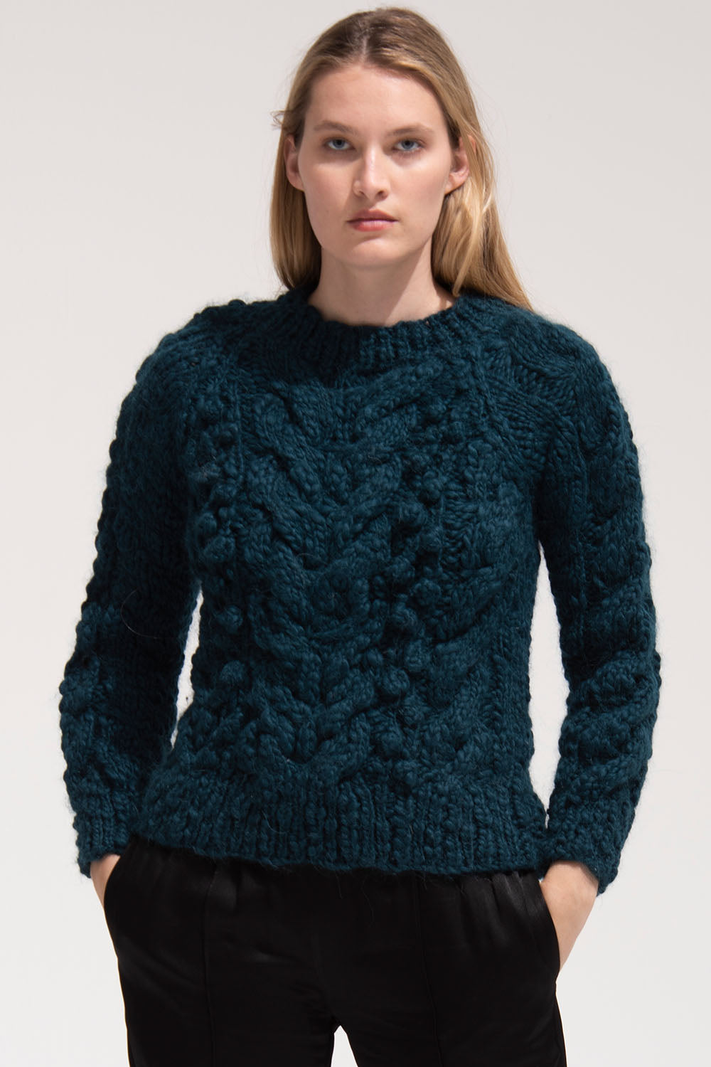 Ossie Sweater in Teal