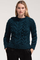 Ossie Sweater in Teal thumbnail