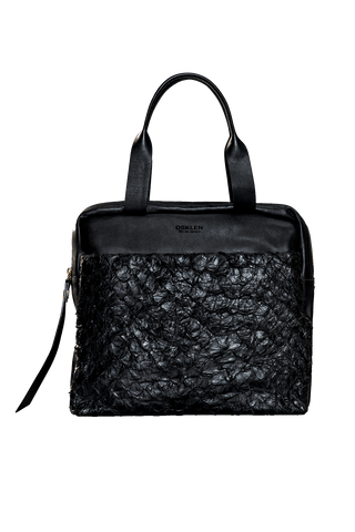 Pirarucu Medium Bag in Black