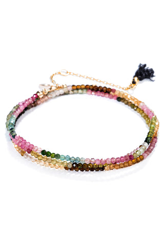 Black Label Petite Multi Tourmaline Bracelet