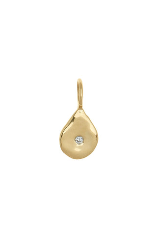 Petite Diamond Tear Drop Pendant