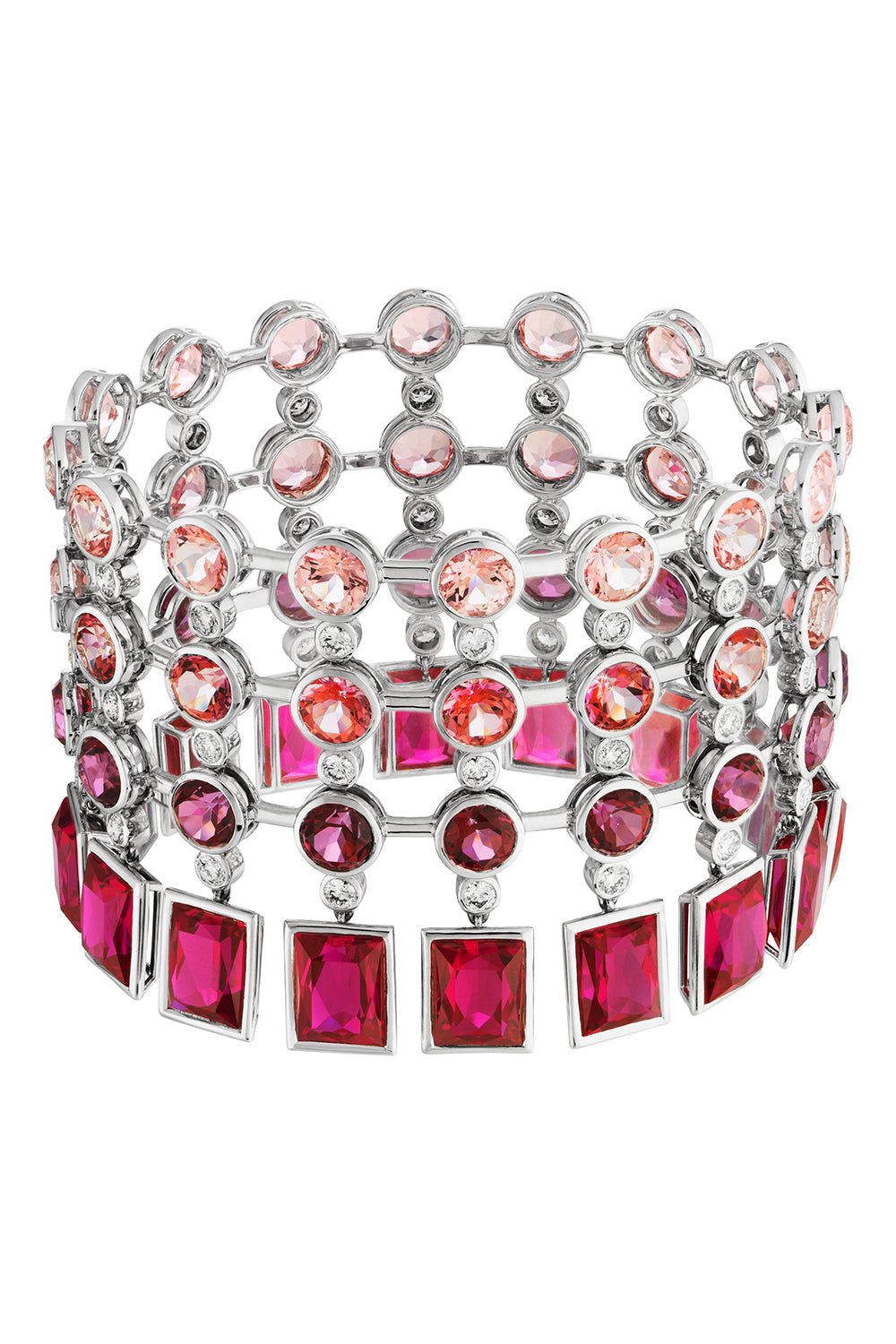 Flowering Fuchsia Cocktail Bracelet