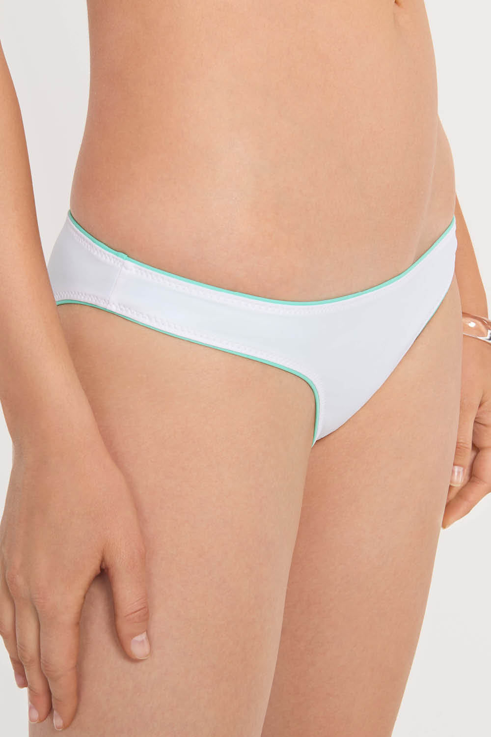 Reversible Cheeky Bottom Mint/White
