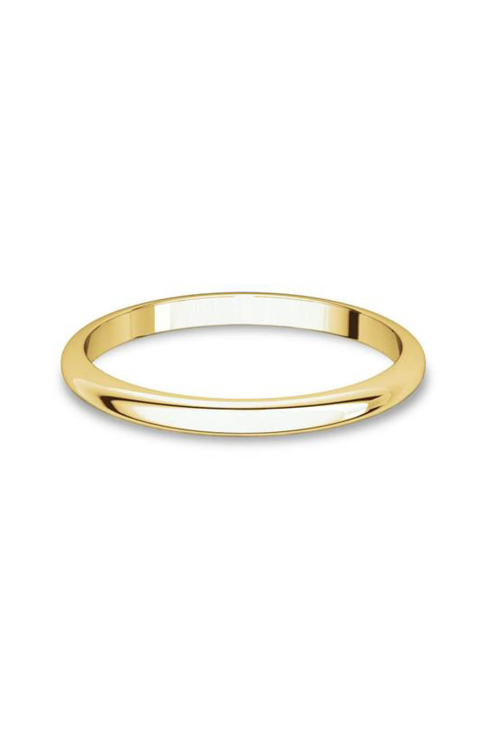 Reclaimed Classic Ring in Yellow Gold