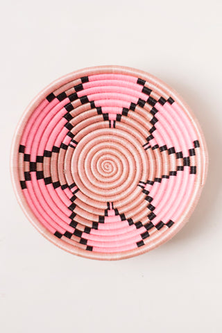 Plateau Basket in Pink