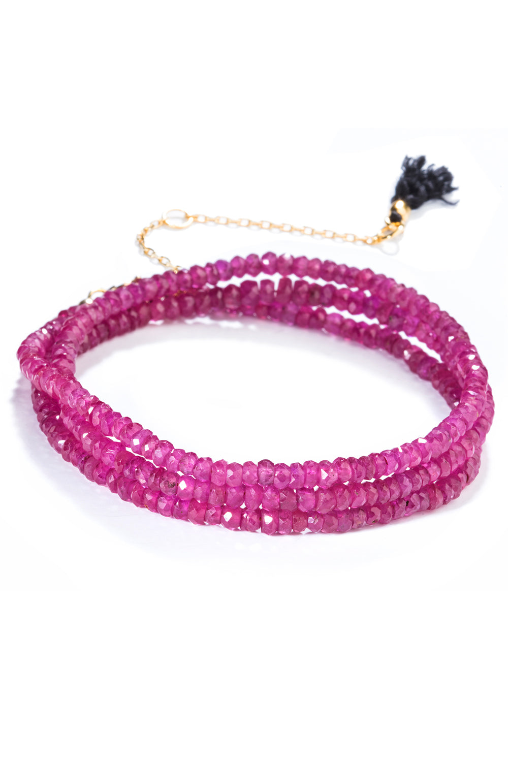 Black Label Ruby Bracelet