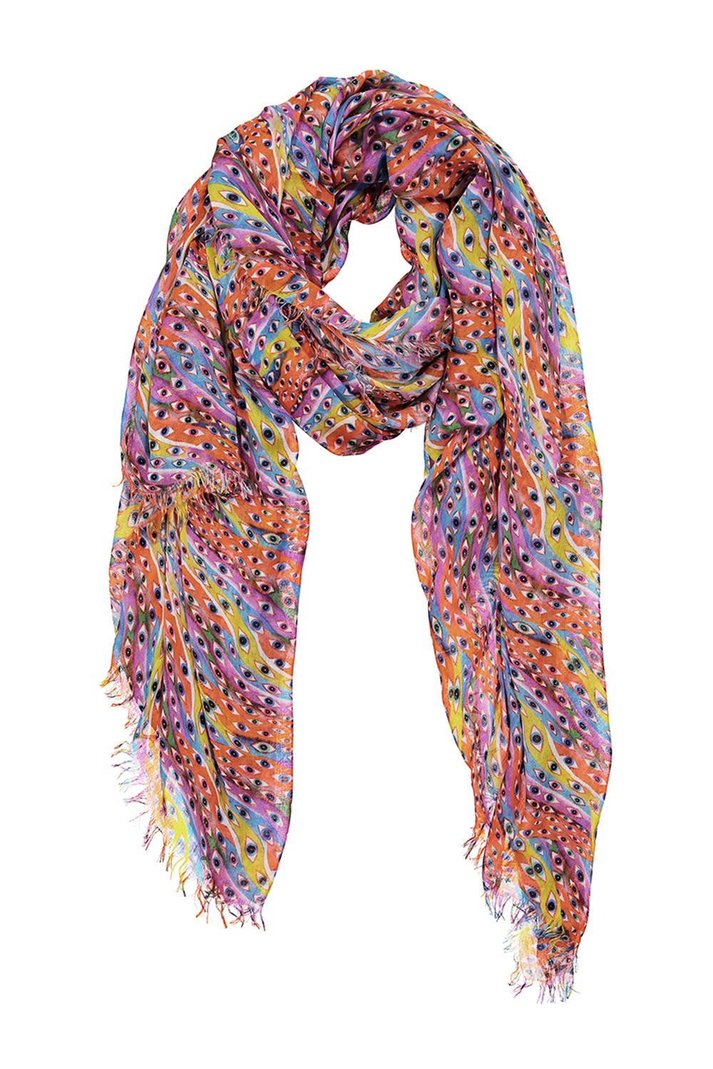 Guardian Eye Cashmere Blend Scarf