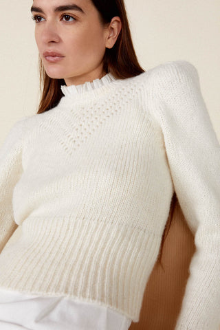Sissy Sweater in Ivory