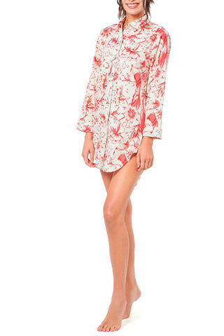 Sissy Tropical Paradise Red Pajama
