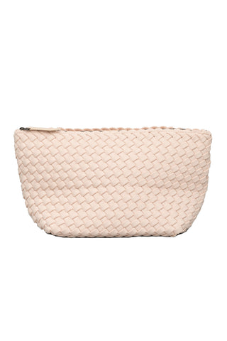 Portofino Medium Pouch in Ecru