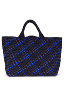 St Barths Large Tote Bag in Ink, Charcoal & Cobalt thumbnail