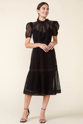 Tomi Dress in Black
