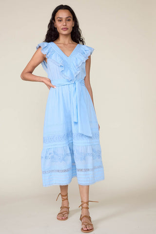 Wonderland Dress in Cerulean