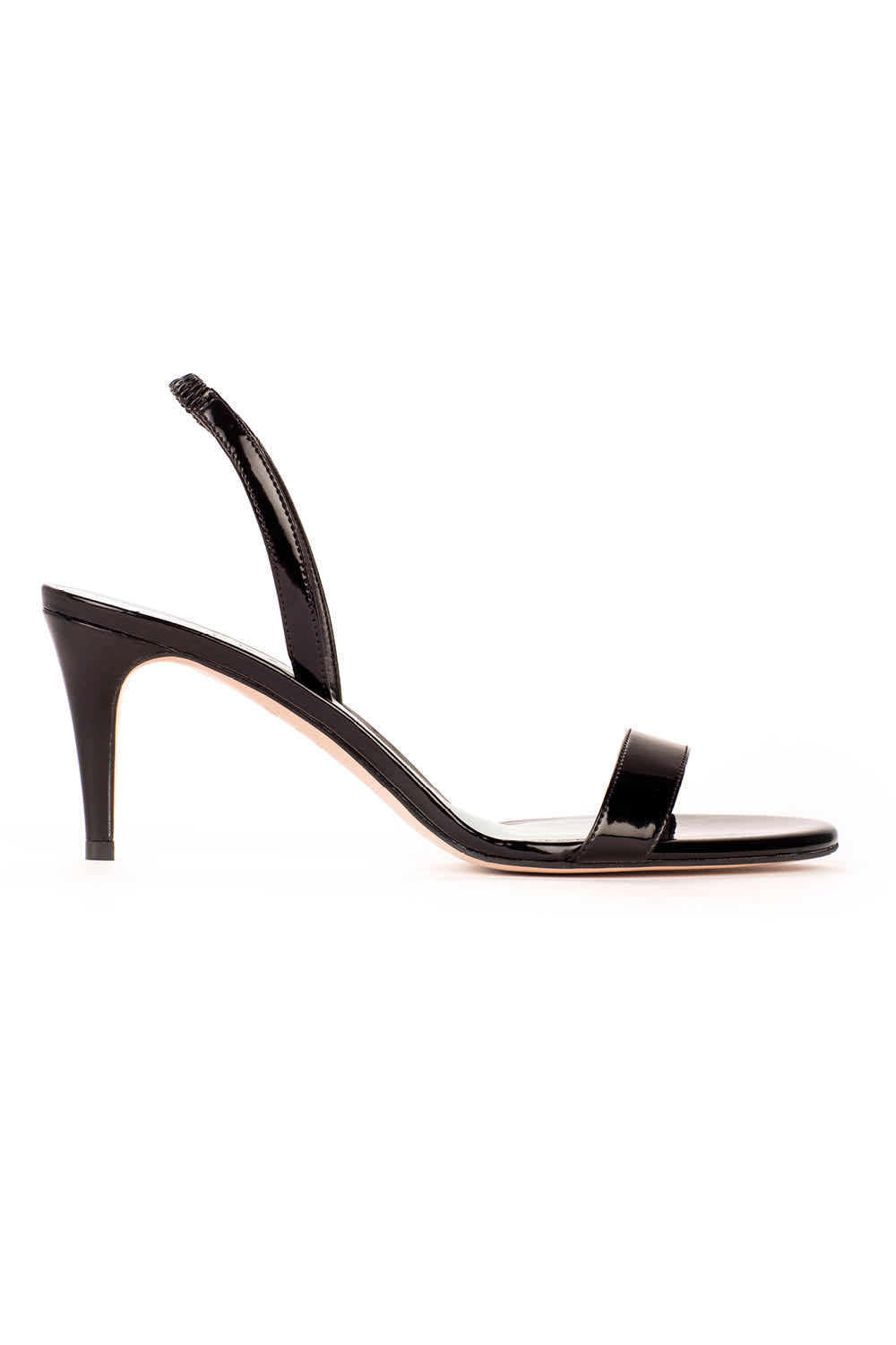 Sally in Black Patent Effect