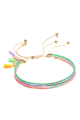 Sam Meadow Bracelet Set in Multi
