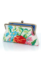 Flowers Canvas Classic Clutch Bag thumbnail