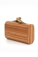 Bronze Log Lovers Clutch Bag thumbnail