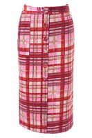 Shawn Skirt in Red & Pink thumbnail