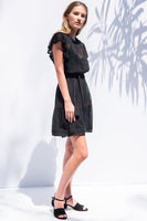 Sheridan Mini Dress in Black thumbnail
