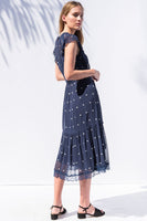 Sheridan Dress in Navy thumbnail