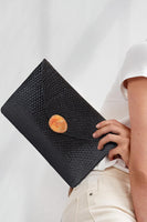 Capri Clutch in Black thumbnail