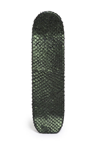 Skateboard in Pirarucu Fish Skin