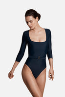 The Square Silhouette Swimsuit in Ocean thumbnail