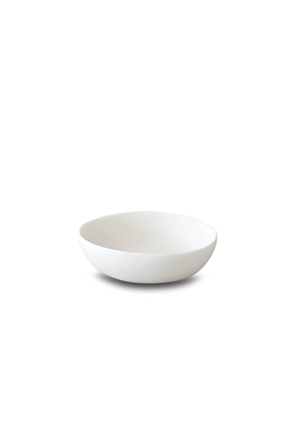 Wide Vegetable Bowl - White