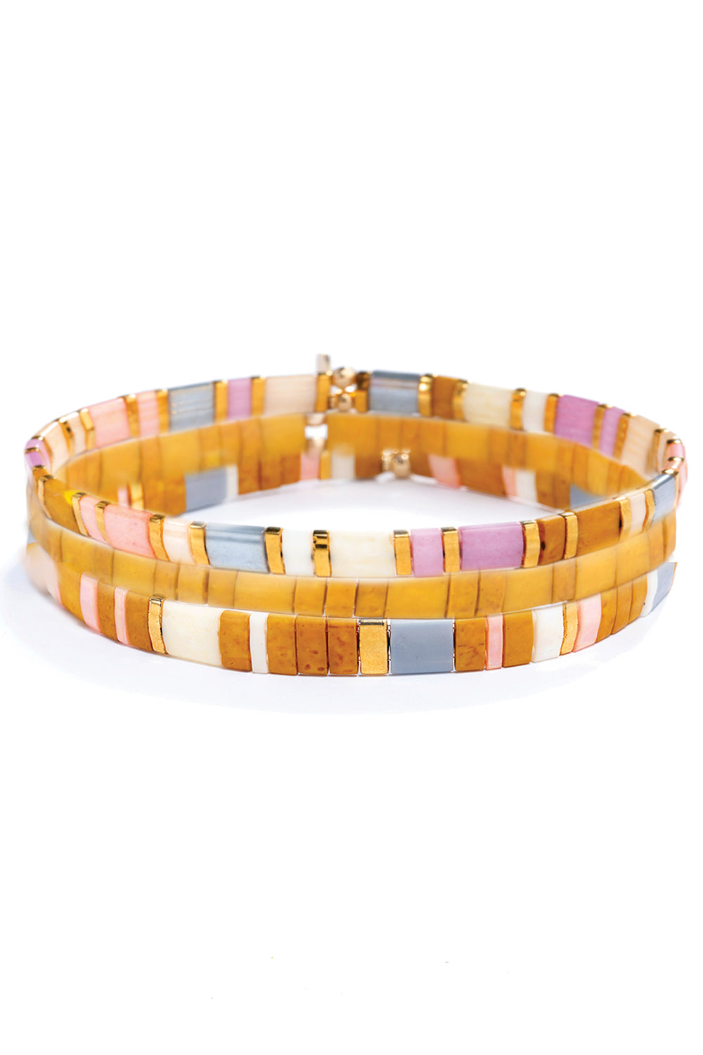Tilu Naturale Bracelet Set in Multi