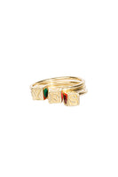 'Y' CAMP Ring in Kelly Green thumbnail