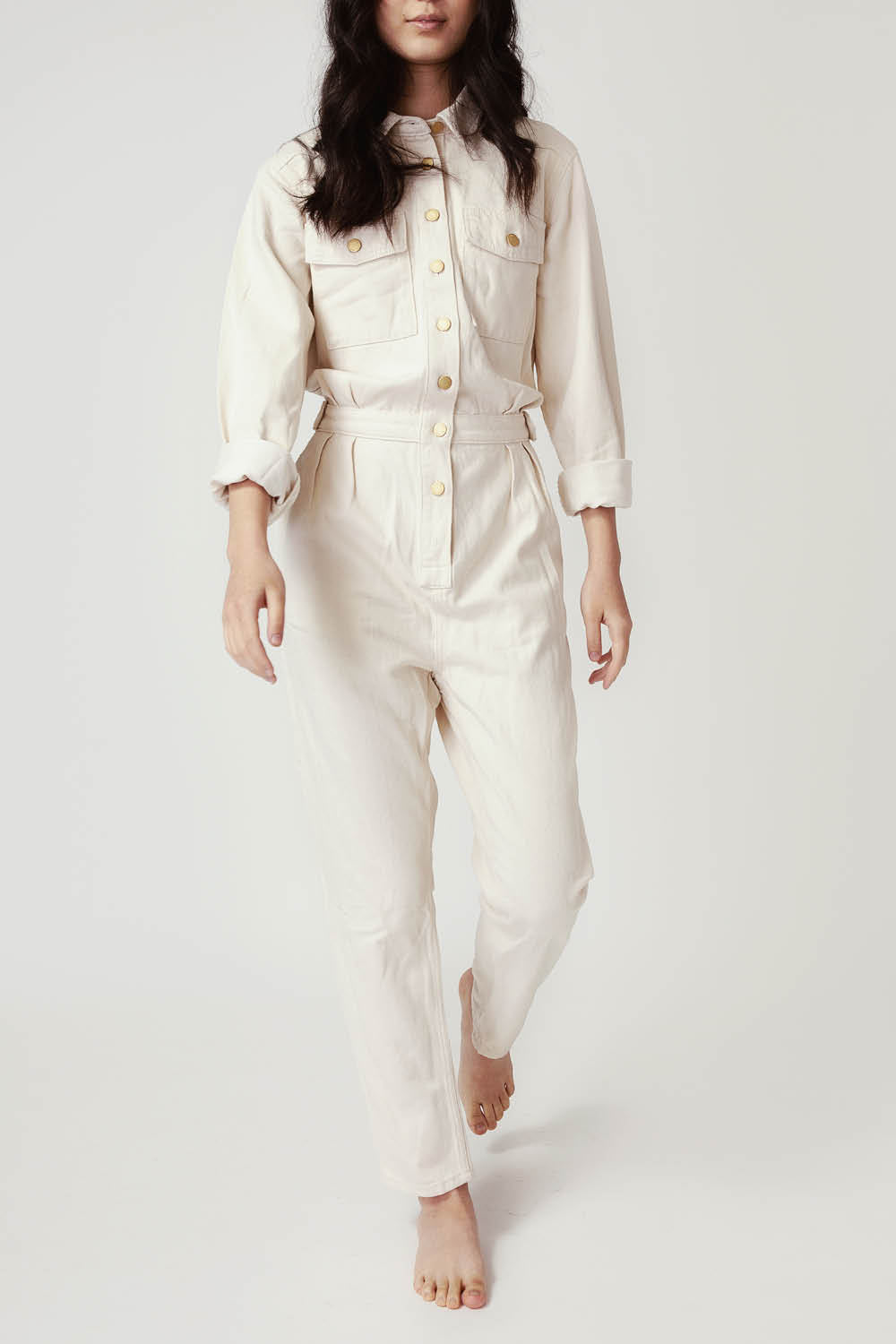 Jumpsuit in Off White
