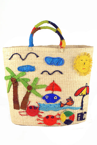 Vamos A La Playa Tote in Multi