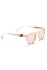 Voyager 35 Sunglasses in Polished White Marble Acetate thumbnail