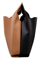 Xala Mix Bag in Black & Camel thumbnail