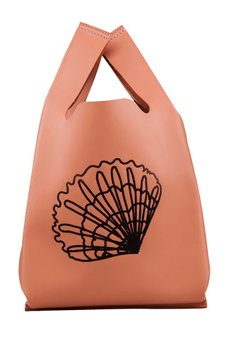 Xala Stitch Bag in Salmon