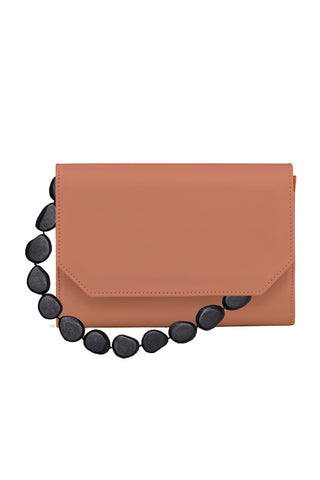 Xalma Tagua Bag in Salmon