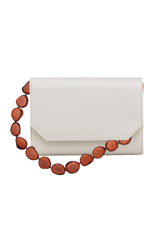 Xalma Tagua Bag in White